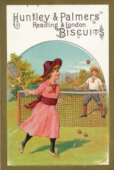 1878 Huntley and Palmers Tennis