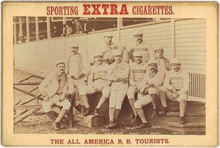1888 Sporting Extra Cigarettes All America BB Tourists.jpg
