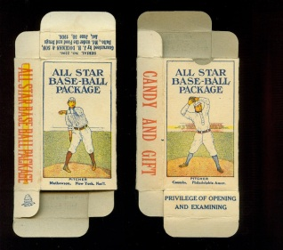 1910 All Star Baseball Boxes