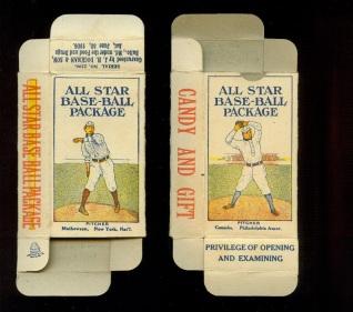 1910 All Star Baseball Boxes
