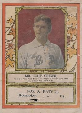 1910s Lou Criger MIles Medical