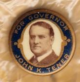 1911 John Tener Pin