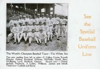 1917 Chicago White Sox Baseball Uniform Trade Card.jpg