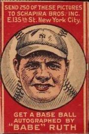 1921 Schapira 6 Ruth