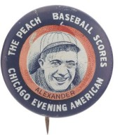 1923 Chicago Evening American Pin Alexander