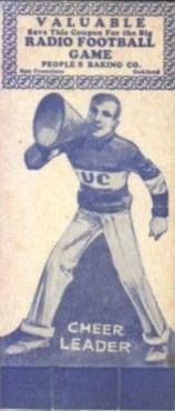 1929 Peoples Baking Football with Coupon