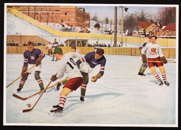 1932 Reemtsma Color Team USA vs. Canada