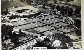 1935 Sights of London Wimbledon Tennis
