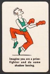 1935 Whitman Party Stunts Boxing