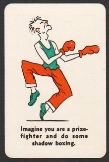 1935 Whitman Party Stunts Boxing