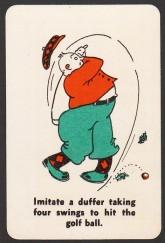 1935 Whitman Party Stunts Golf