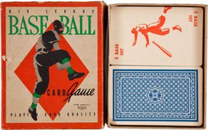 1938 Big League Card Game