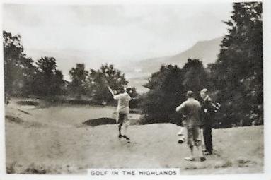 1938 Senior Service Golf in the Highlands