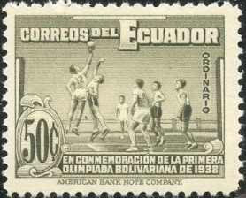 1939 Bolivarian Games Basketball Stamp.jpg