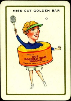 1939 Wills Happy Families Tennis