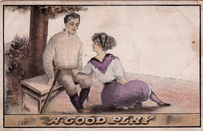 A Good Play Postcard