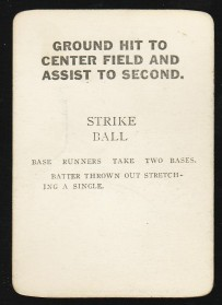 Aydelott's Game Card