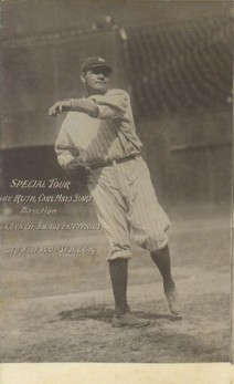 Babe Ruth 1921 Barnstorming Tour