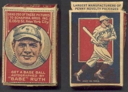 Babe Ruth Schapira Brothers Box