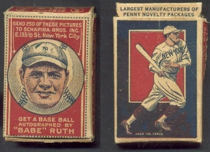 Babe Ruth Schapira Brothers Box
