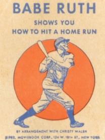 Babe Ruth Wheaties Flip Book