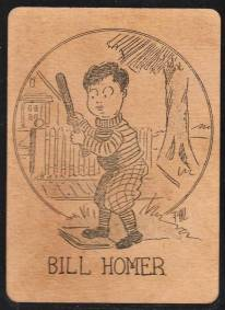Bill Homer Black and White 1920s Old Maid