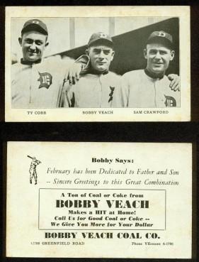 Bobby Veach Coal Company Card