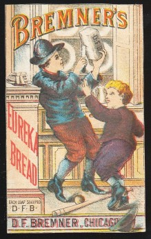 Bremner Eureka Bread Trade Card