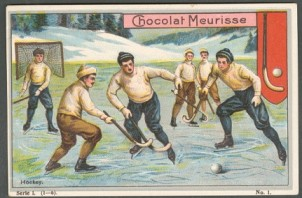Chocolat Meurisse Hockey Trade Card