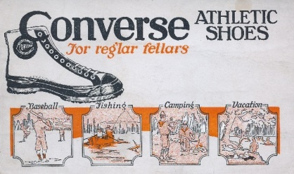 Converse Athletic Shoes Blotters
