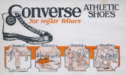 Converse Athletic Shoes Blotters