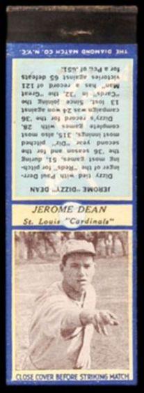 Dizzy Dean U3-2 Diamond Matchbook.jpg