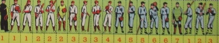 F273 Kellogg Pep Stamps Album Baseball Game Pieces