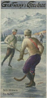Gartmann Chocolates Hockey Trade Card