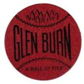 Glen Burn Coal Trade Card Scatter Tag