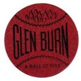 Glen Burn Coal Trade Card Scatter Tag