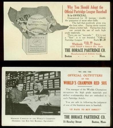 Horace Partridge Company Blotters