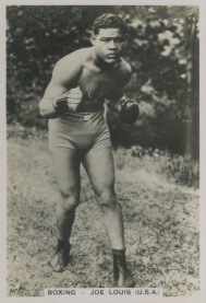 J.A. Pattreiouex Sporting Events and Stars Joe Louis Rookie Card Boxing
