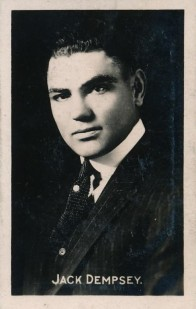Jack Dempsey 1922-23 Sporting Champions boxing