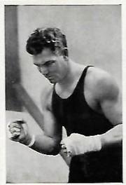 Jack Dempsey 1933 Trumpf Chocolate Boxing