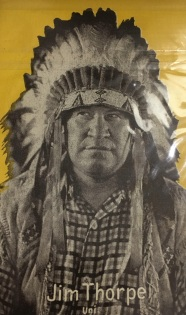 Jim Thope Exhibit Postcard - Yellow Background