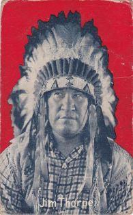 Jim Thorpe Indian Movie Exhibit Postcard 2