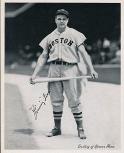 Jimmie Foxx 1936 Spencer Shoes Photo