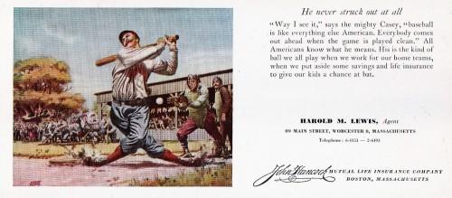 John Hancock Case at the Bat Blotter