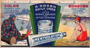 Mentholatum Hockey Blotter