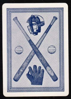 Norpoth Baseball Game Card Back (1917)