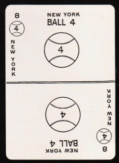 Norpoth Baseball Game Card Front (1917)