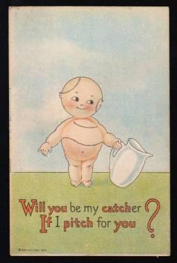 prewarcards-fan-ie-be-my-catcher-baseball-postcard