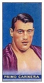 Primo Carnera 1934 Amalgamated Press Boxing