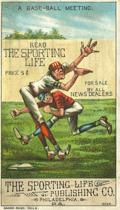 Sporting Life H804-8 Trade Card